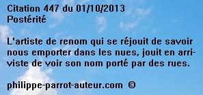 Cit 447  011013