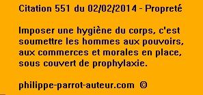 Cit 551  020214
