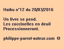 Haïku n°12 du 200316