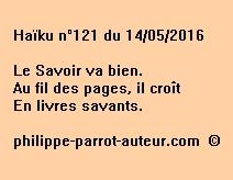 Haïku n°121 du 140516