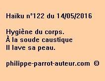 Haïku n°122 du 140516