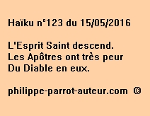 Haïku n°123 du 150516