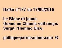 Haïku n°127 du 170516