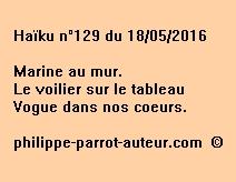 Haïku n°129 du 180516