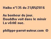 Haïku n°135 du 210516