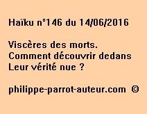 Haïku n°146 du 140616
