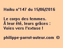 Haïku n°147 du 150616