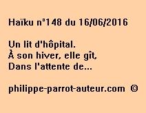 Haïku n°148 du 160616