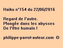 Haïku n°154 du 220616