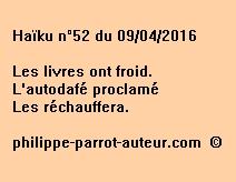 Haïku n°52 du 090416