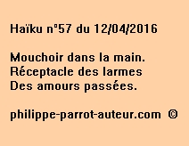 Haïku n°57 du 120416