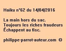 Haïku n°62 du 140416