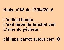 Haïku n°68 du 170416