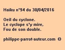 Haïku n°94 du 30042016