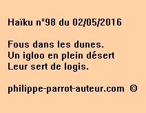 Haïku n°98 du 020516