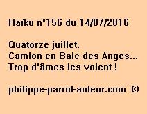 Haïku n°156 du 140716