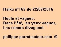 Haïku n°162 du 220716