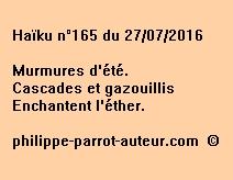 Haïku n°165 du 270716