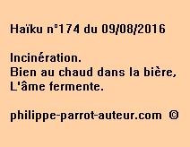 Haïku n°174 du 090816