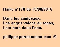 Haïku n°178 du 150816