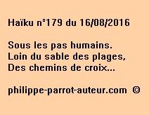 Haïku n°179 du 160816
