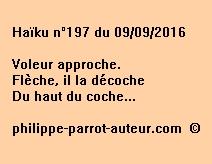 Haïku n°197 du 090916