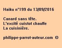 Haïku n°199 du 130916