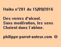 Haïku n°201 du 150916