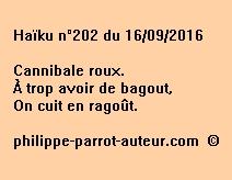 Haïku n°202 du 160916