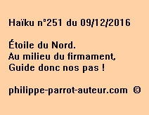 Haïku n°251 du 091216