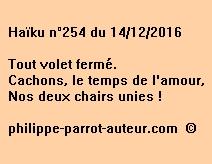 Haïku n°254 du 141216