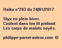 Haïku n°283 du 240117