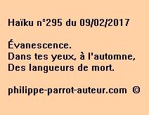 Haïku n°295 du 090217