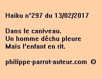 Haïku n°297 du 130217