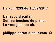Haïku n°299 du 150217