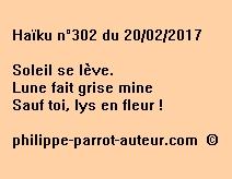 Haïku n°302 du 200217