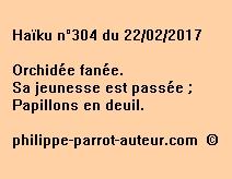 Haïku n°304 du 220217