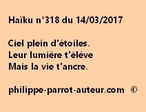 Haïku n°318 du 140317