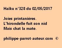 Haïku n°328 du 020517