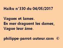 Haïku n°330 du 040517