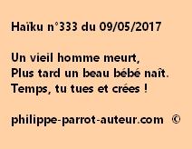 Haïku n°333 du 090517