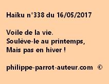 Haïku n°338 du 160517