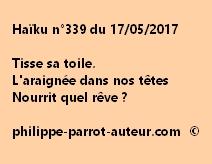 Haïku n°339 du 170517