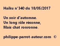 Haïku n°340 du 180517