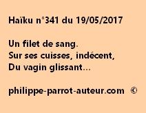 Haïku n°341 du 190517