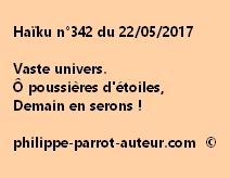 Haïku n°342 du 220517