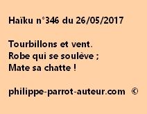 Haïku n°346 du 260517