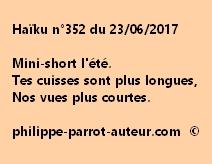 Haïku n°352 du 230617