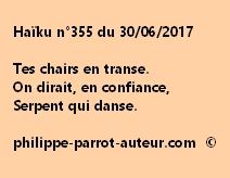 Haïku n°355 du 300617
