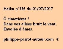 Haïku n°356 du 010717